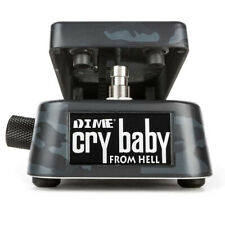 Dunlop DB01B Crybaby From Hell Dimebag Wah Guitar Effects Pedal - Black Camo