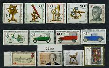 (be45k) GERMANY BERLINO, 1975, Michel nr 641-644,660-663,723,750,797 Fresco Posta