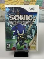 SHIPS SAME DAY Sonic and the Black Knight - Nintendo Wii - No Manual - Tested