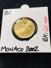 20 Cent Euro Monaco 2002 BU