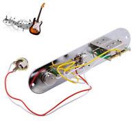 Vorverdrahtete 3-Schalter der Steuerplatte für Telecaster E Gitarre Mit Sockel