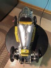 Erector Meccano Trix Bugatti Bauanleitung 86052 Bugatti Car 1/8 Kit Set Assemble