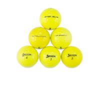 60 Srixon Mix Yellow Used Golf Balls / Near Perfect Mint AAAA / Free Shipping