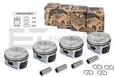 4x Kolben Satz PM006450 SKODA VW AUDI SEAT 2,0 TSI Ø 83,01 mm Übermaß +0,50 mm