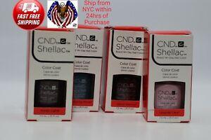 CND Shellac UV LED Gel Nail Polish Base Top Coat 7.3ml 0.25oz