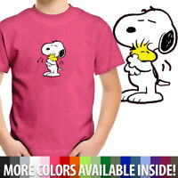 Snoopy Hug Woodstock Cute Peanuts Love Friendship Toddler Kids Tee Youth T-Shirt