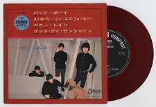 """The Beatles - Bad Boy/Strawberry Fields Forever +2, OP/500 7"""" JAPAN RED VINYL EP"""