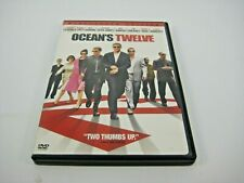 OCEANS 12 DVD WIDESCREEN (GENTLY PREOWNED)