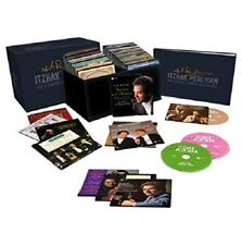 ITZHAK PERLMAN - THE COMPLETE WARNER RECORDINGS 77 CD NEW+ BACH/BRAHMS/BEETHOVEN