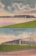 Postcard Hangars + Classroom Buildings Sheppard Field Texas TX
