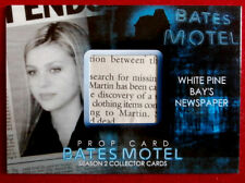 BATES MOTEL (Season Two) - WHITE PINE BAY'S NEWSPAPER - Prop Card BP3