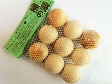 Japanese Bath: Pack of Nine Fragrant Kiso Hinoki Real Cypress Wooden Bath Balls
