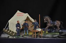 BRITAINS 17463 UNION COMMAND DECISION AT VICKSBURG METAL TOY SOLDIER FIGURE SET