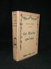 La Roche qui tue - Pierre Maël - 1927 ill. Scott