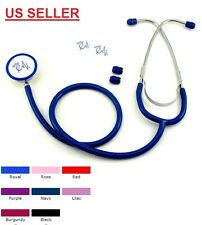 2 Piece Lot New Dual Head Stethoscope Color : Purple -  US seller Fast Shipping