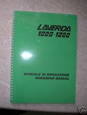 Laverda 1000 - 1200 Workshop Manual