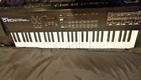 Vintage Roland D-20 Multi Timbral Linear Synthesizer Sequencer Keyboard