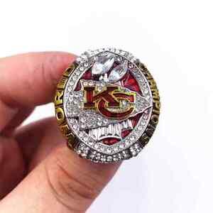 Kansas City Chiefs 2019 2020 Ring Mahomes patrick Super Bowl LIV Champions