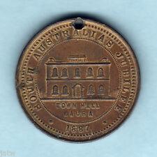 New listing Australia. 1887 Laura Sth A. - Victoria's Jubilee Medallion. 31mm, Ae. gVf