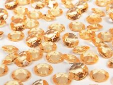 Gold Wedding Table Crystals / Scatter Crystals 12 mms  Wedding Table Decoration