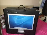 """APPLE 20"""" A1081 Cinema Display Widescreen Moniter empty Boxed with packaging"""