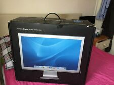 "APPLE 20"" A1081 Cinema Display Widescreen Moniter empty Boxed with packaging"