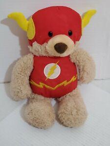 Bear Plush Flash Gund Teddy Dc Comics Blaze Stuffed Red Fuzzy Suit Red