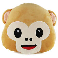 New EMOJI Monkey Pillow Cushion