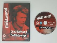 Play Misty For Me Clint Eastwood Jessica Walter Genuine R2 DVD VGC FAST POST
