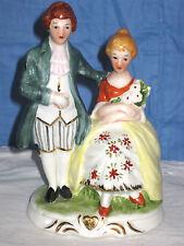 PorzellanFigur, amuröses Paar, Figurengruppe, Liebespärchen