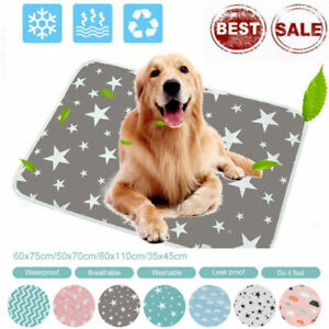 Pet Pee Pads Mats Large Puppy Training Pads Toilet Wee Cat Dog Supplies Washable