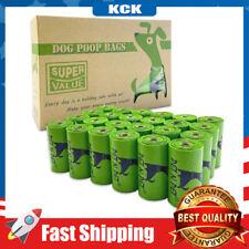 Dog Poop Bags 360pcs Refill Rolls Epi Additive Eco Friendly Unscented Leak-Proof