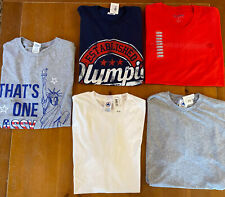 Lot of 5 Adult Men's Athletic Clothes,Olympia Sports Shirts,Everyday Wear Size M