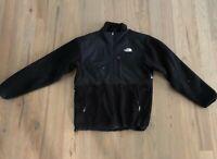 Mens The North Face Denali Polartec Black Full Zip Jacket Size Small