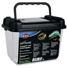 Trixie Transport & Feeding Box Reptiles Gecko Lizard 76303