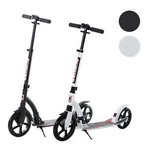 Teens Adult Kick Scooter Foldable Adjust Aluminum Ride On Toy For 14+