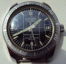 Vintage men's Diver Cardinal /Sicura-Breitling/ Submarine EB 8021N 23J  Swiss