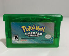 Pokemon Emerald Version GBA Game Boy Advanced - Authentic! Tested! *New Battery*