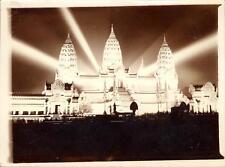 snapshot Exposition coloniale internationale 1931 Le temple d'Angkor Vat lumière