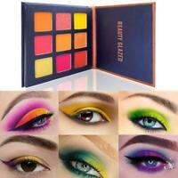 9-Color Matte Palette Eyeshadow Waterproof Nude Pressed Makeup Glitter P8I5