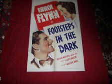 FOOTSTEPS IN THE DARK  Orig. 1-Sheet Movie Poster - 1941  EX. Cond.