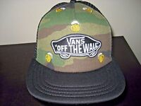 Vans Shoes Classic Patch Camo Beer Mug Trucker Hat Cap adjustable NWT Free Ship
