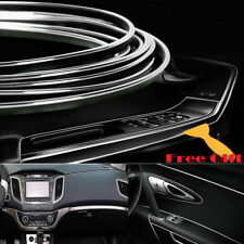 16.4ft DIY Silver Car Styling Strip Trim Decal Interior Edge Gap Moulding Line