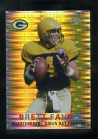 2015 Topps Chrome MINI SET BREAK Brett Favre 60th Anniversary PULSAR #/25