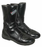 """"""" IXS """" Herren- Motorradstiefel / Biker- Stiefel / Boots in schwarz ca. Gr. 43,5"""