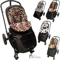 Pushchair Animal Print Footmuff / Cosy Toes Compatible With BabyStyle