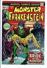 Frankenstein (Monster of) #2 VF Marvel Bronze Age Ploog Cover/Art