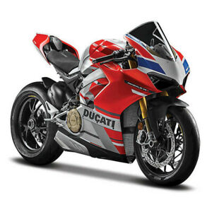 1:18 Ducati Panigale V4 S Corse by Maisto in Red/White 19132
