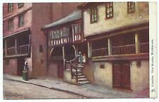 CHESHIRE - OLD HOUSE, WATERGATE, CHESTER Artist CUBLEY Raphael TUCK Postcard