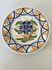 Decorative Wall Hanging Plate With Floral Design